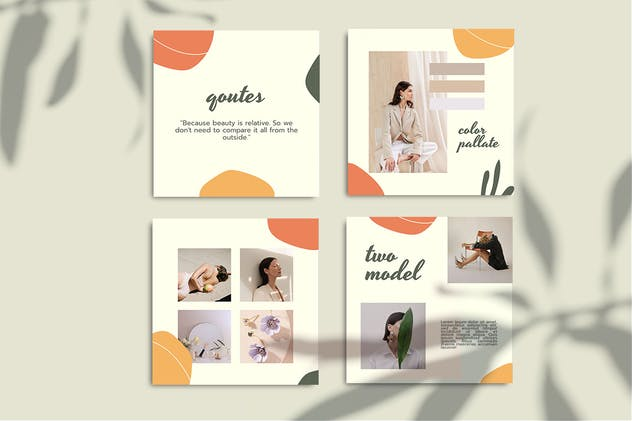 CELISIA - Fashion Instagram Post Template - product preview 3
