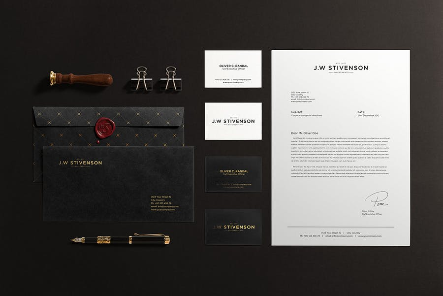 Preview image 6 for Luxury Branding Mockup