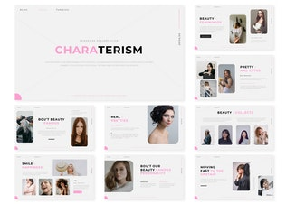 Characterism | Presentation Template