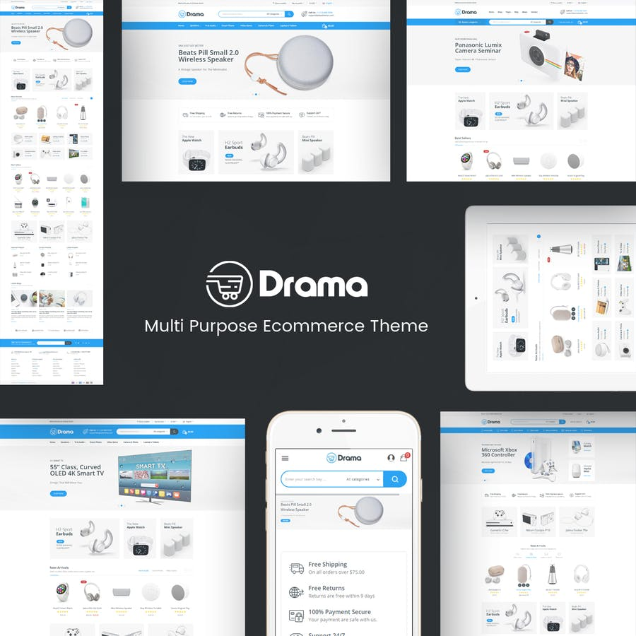 Drama - Responsive Prestashop Theme - product preview 1