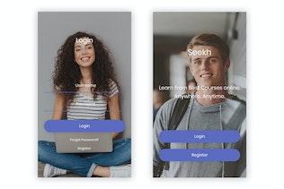Thumbnail for Seekh - Online Learning UI Kit
