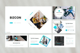 Thumbnail for Business Corporate PowerPoint Template
