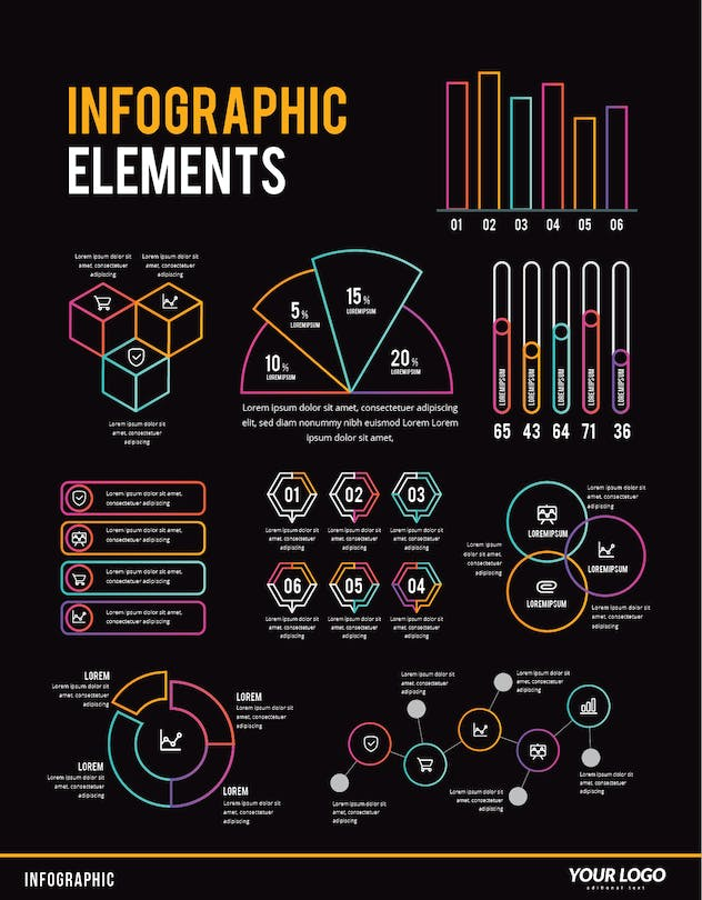Infographic Examples for Designer V.50 - product preview 1
