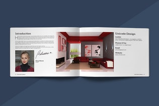Thumbnail for Modern Catalogue Template