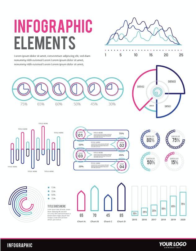 Infographic Examples for Designer V.48