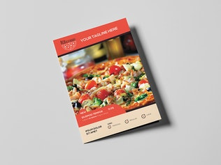 Thumbnail for Pizza Restaurant - Menu Template