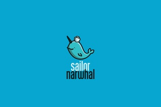 Thumbnail for Sailor Narwhal Logo Template