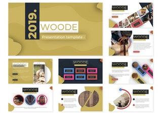 Thumbnail for Woode | Keynote Template