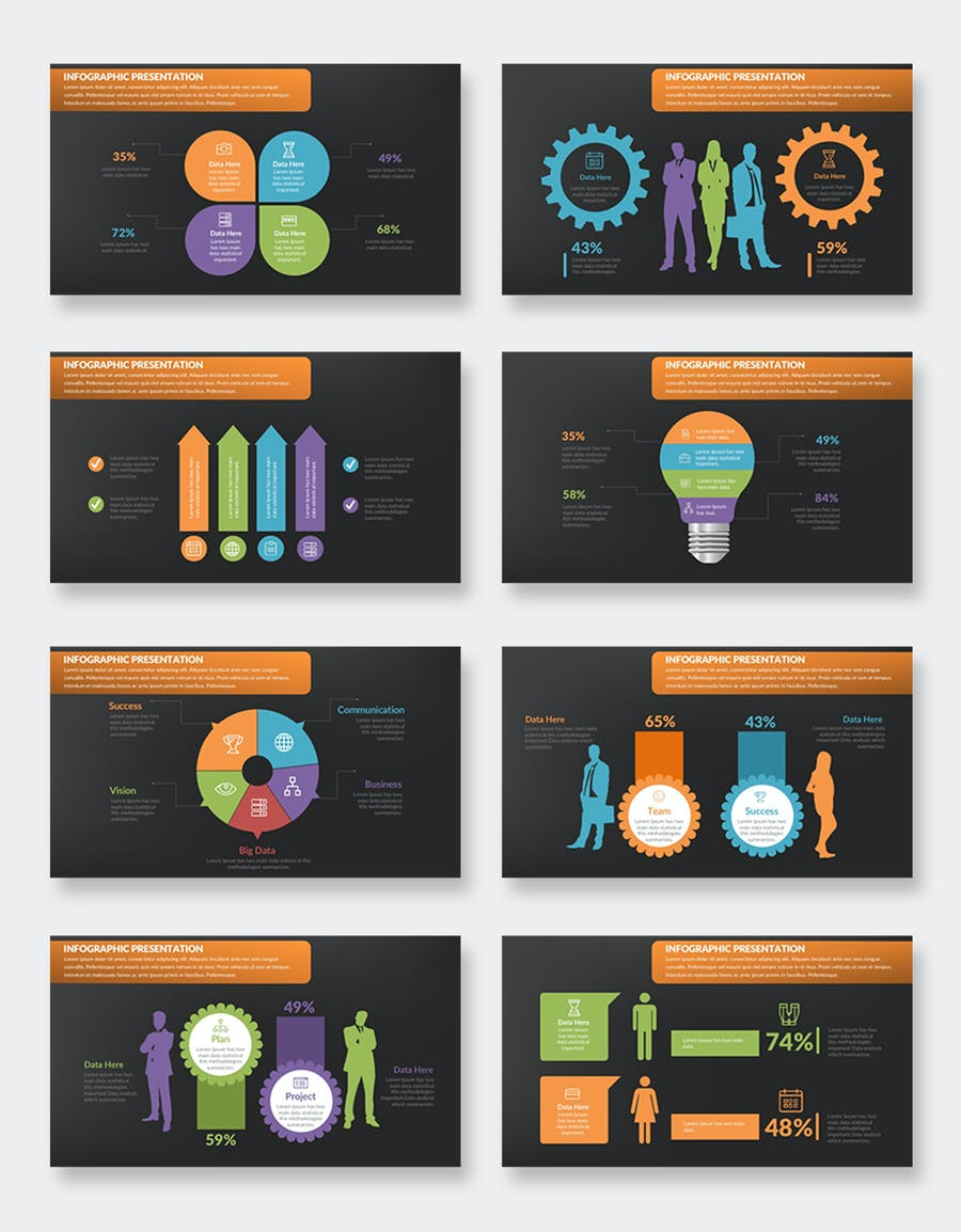 Infographics Keynote Presentation - product preview 8
