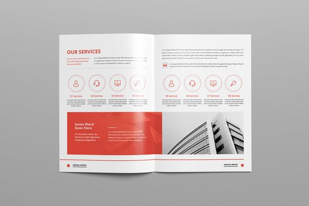 Annual Report A4 & Us Letter - product preview 9