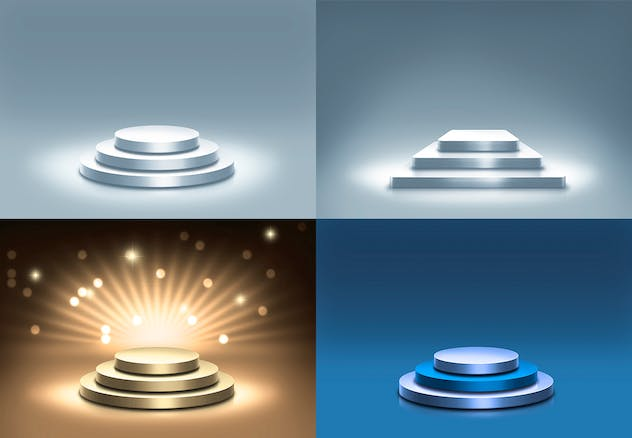 Stage and Lights Backgrounds - product preview 7