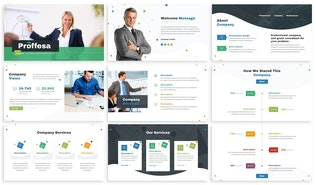 Thumbnail for Proffesa - Corporate Powerpoint Template