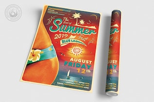 Thumbnail for Summer Fest Flyer Template V4
