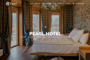 Thumbnail for Pearl - Hotel & Restaurant Template