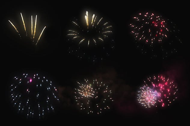 100 Firework Overlays - product preview 9