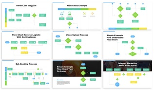 Thumbnail for Flowchart Diagram For Powerpoint Presentation