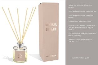 Thumbnail for Diffuser home fragrance Mockup