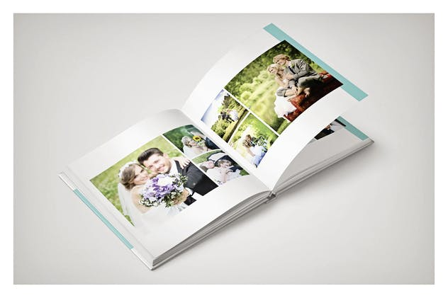 PSD - Minimalist Wedding Album - product preview 2