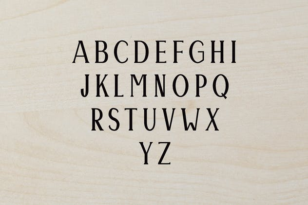 Montrell Serif Font Family Pack - product preview 3