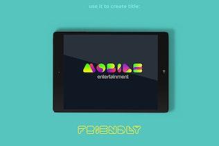 Thumbnail for Advio friendly font