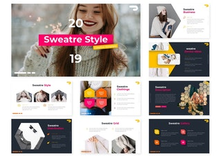 Миниатюра для Стиль Sweatre | Шаблон Keynote