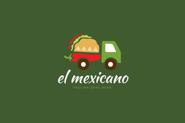 El Mexicano Logo Template - product preview 0