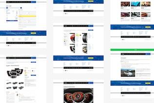 Gear — Automotive Business/Auto Parts Store PSD