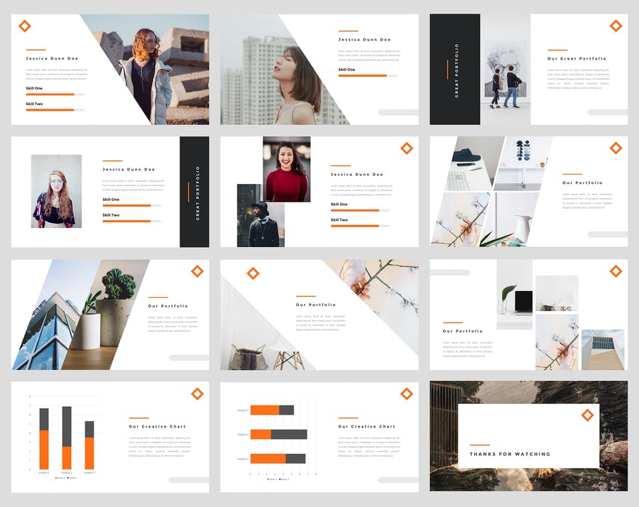 Tele - Creative PowerPoint Template - product preview 3