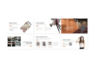 Thumbnail for Movieo - Powerpoint Template