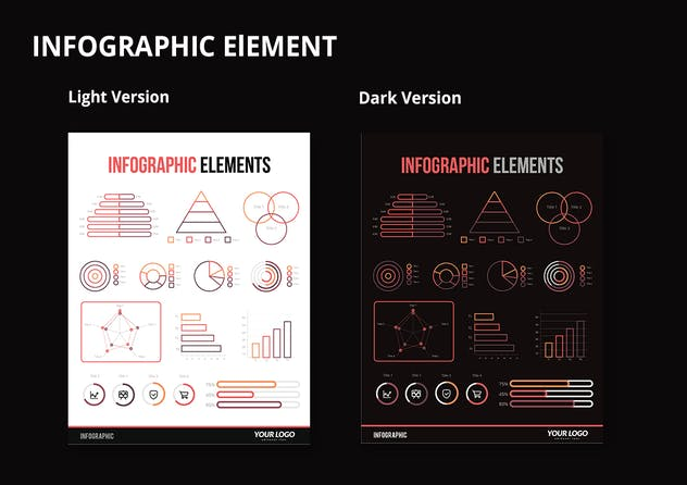 Infographic Examples for Designer V.54 - product preview 2