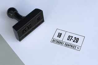 Thumbnail for Multipurpose Rubber Stamps Mock Up