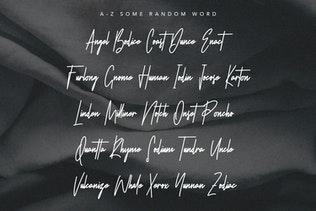 Thumbnail for Wright Dalton Signature Script Calligraphy Font