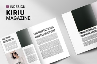 Thumbnail for Kiriu | Magazine