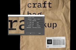 Thumbnail for Craft Bag Mockup
