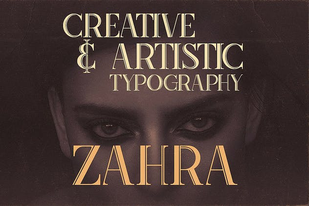 Zahra Typeface - product preview 2