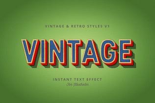 Миниатюра для Винтаж и ретро стили Vol.1