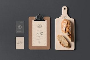 Thumbnail for Bakery Branding Mock-up