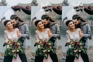 Thumbnail for Indie Wedding Presets for Lightroom & ACR