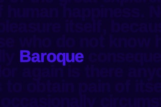 Thumbnail for Baroque sans Typeface + Webfonts