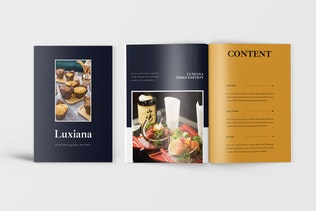 Thumbnail for Photography Catalogue Template
