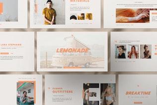 Thumbnail for Lemonade Business Creative Keynote