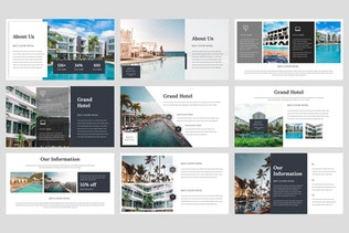 Thumbnail for Grand - Hotel Google Slides Template