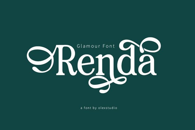 RENDA - Serif - product preview 1