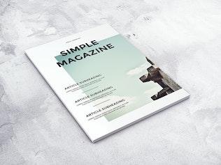 Thumbnail for A4 Magazine MockUp vol.2