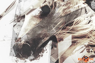 Thumbnail for Geometric Dispersion FX Photoshop Add/On Extension