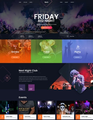 Thumbnail for Friday Night DJ Club Music Party Celerity Template