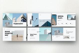 Thumbnail for ENCORE - Google Slide Minimal Template Business