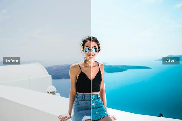 Santorini Mobile & Desktop Lightroom Presets