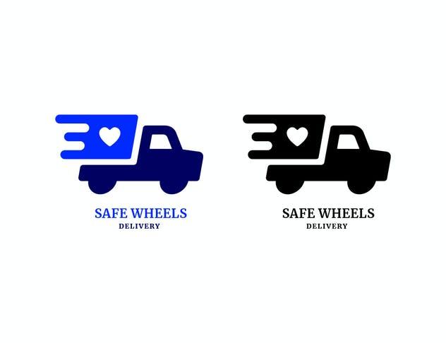 Safe Wheels Delivery Logo
