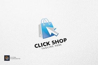 Thumbnail for Click Shop - Logo Template